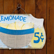 Lemonade Sign — Stock Photo