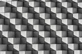 Astract Bricks and Shadows in B&W — Stock Photo