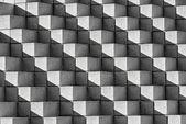 Astract Bricks and Shadows in B&W — Zdjęcie stockowe