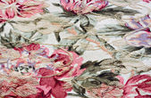 Flowered fabric — Stock Photo
