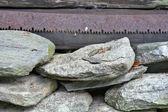 Rust and Rocks — Stock Photo