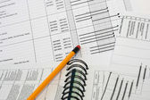 Project Schedule Outline — Stock Photo