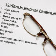 Ten ways to increase passion at work — Stock Photo #2098982