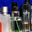 Stock Photo: Fragrance bottles