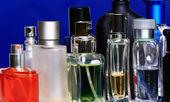 Fragrance bottles — Stock Photo