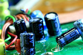 Component of electronic circuit — Stock Photo