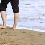 Feet On Beach — Stock Photo #2197978