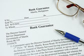 Garantia bancária — Fotografia Stock
