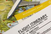 Boarding pass — Stock Photo