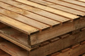 Wood Pallet — Stock Photo