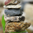 Zen Stones in balance — Stock Photo
