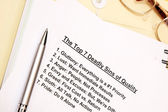 The top 7 deadly sins of quality — Stock Photo