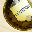 Donation Box — Stock Photo