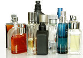 Perfume Bottles — Stock Photo
