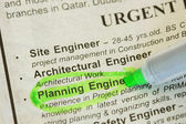 Engineer wanted — Stock Photo