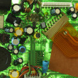 Circuit Board Components — Stock Photo