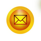 Youve got mail Button Icon — Stock Photo
