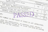 Passed the board examination — Stock Photo