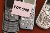 For sale old handphone — Stock Photo