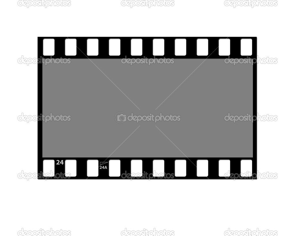 Film strip negative stock image