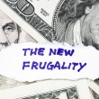 Stock Photo: New frugality