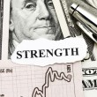 Strength of Business Profit — Stock Photo