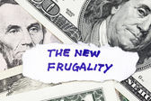 The new frugality — Stock Photo