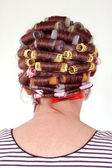 Hair curlers — Stock Photo