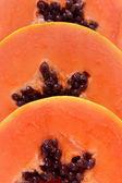Papaya slices — Stock Photo