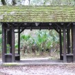 Forest shelter in the woods — Stock Photo #2191536