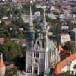 Zagreb cathedral — Stock Photo