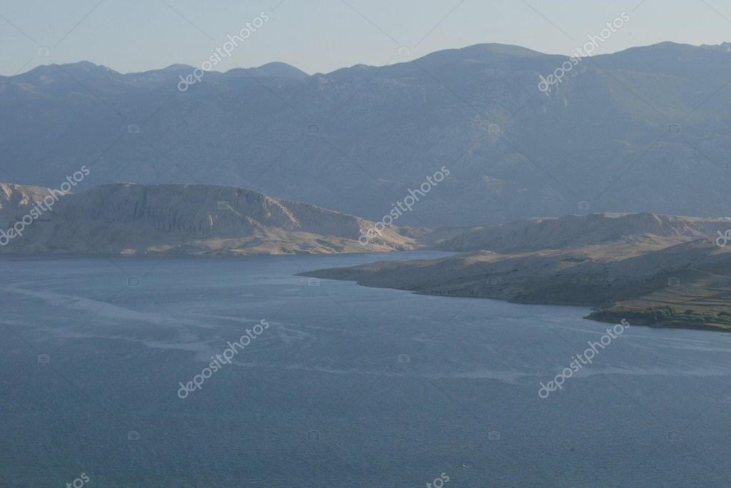 View on the island of Pag in Croatia. — Stock Photo #1952988