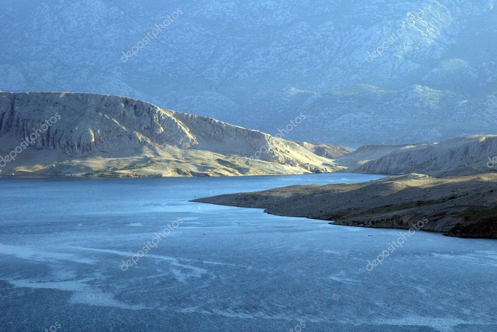 View on the island of Pag in Croatia. — Stock Photo #1953733