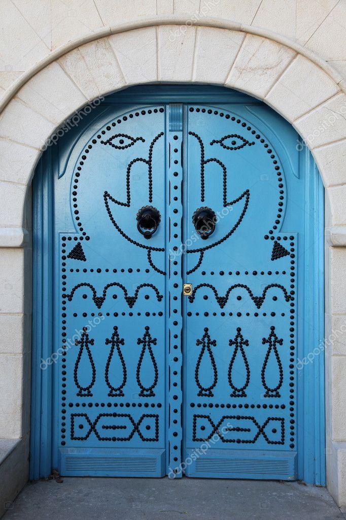 Porte sidi bou sa d photographie zatletic 2035937 for Decoration porte sidi bou said