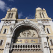 Catholic cathedral in Tunis — Stock Photo