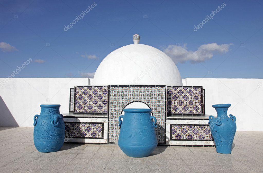 Architecture traditionnelle tunisienne photographie for Architecture tunisienne