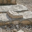 Jewish cemetery on the Mount of Olives - Stock Photo