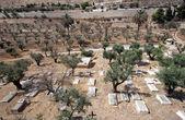 Christian cemetery, Jerusalem — Stock Photo