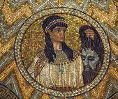 Judith, mosaic — Stock Photo