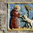 Stock Photo: Saint Francis of Assisi