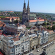 Royalty-Free Stock Photo: Zagreb panorama with cathedral