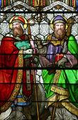 St. Quirinus of Sescia and Bl. Agostino — Stock Photo