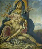 Seven Sorrows of the Blessed Virgin Mary — Fotografia Stock
