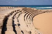 Ancient Roman hippodrome in Caesarea, Is — Stock Photo