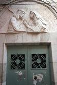 Via Dolorosa, 4th Stations of the Cross. Jerusalem — Stock Photo