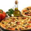 Pizza — Stockfoto