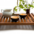 Royalty-Free Stock Photo: Green tea ceremony