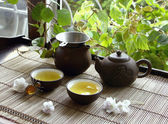 China tea ceremony — Foto Stock