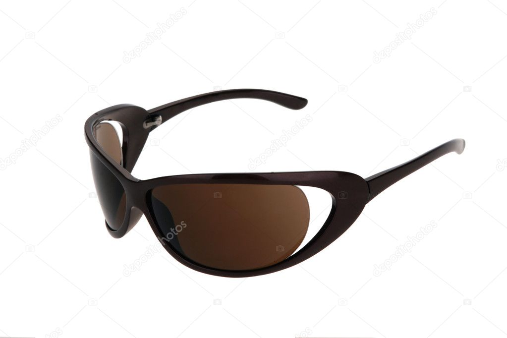 Sun glasses isolated on the white background.  Stock Photo #2126362