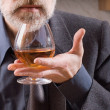 Royalty-Free Stock Photo: Tasting brandy